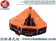 船用救生筏專業生產銷售自扶正氣脹式膨脹筏