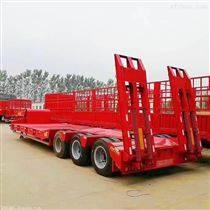 凹梁式和轮胎外露式结构低平板挂车自重