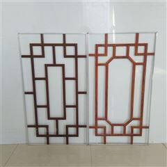 专业生产中空玻璃窗花装饰条