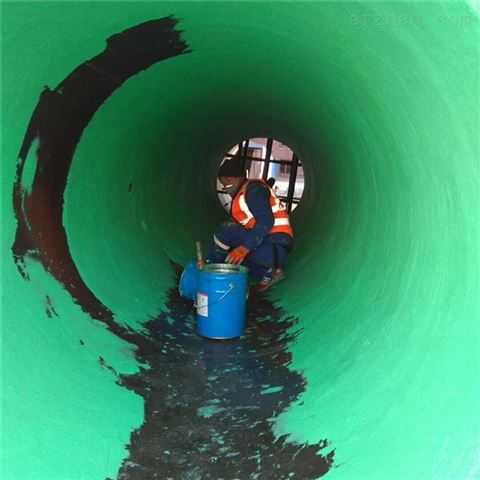 污水池防腐污水池玻璃鳞片胶泥施工技术