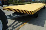 工厂用牵引平板拖车