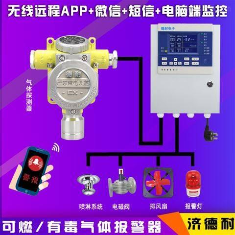 炼钢厂车间丁二烯气体浓度报警器,APP监控