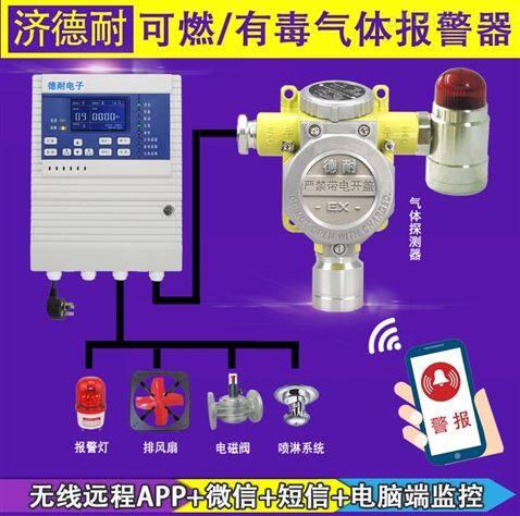 固定式石脑油气体报警器,APP监控