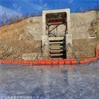 提供高落差水位电站拦污排浮体