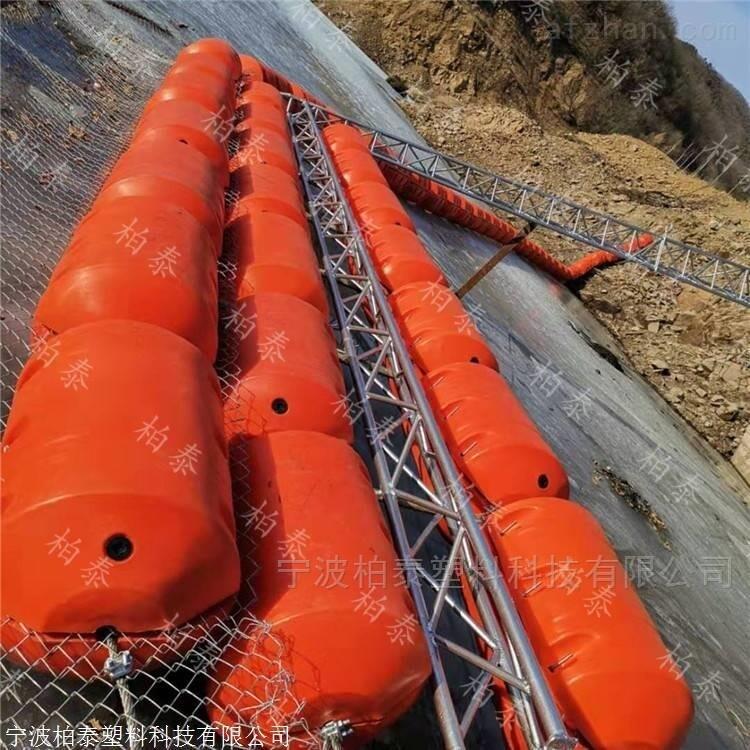 三门核电站取水口用组合式拦污浮筒
