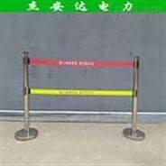 警示带式不锈钢伸缩围栏 5五米双层价格