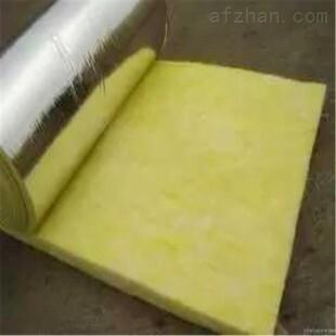 锡纸贴面75mm厚16kg隔热玻璃丝棉卷毡价格