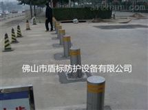 DB茂名全自动升降防撞柱不锈钢阻车伸缩路桩