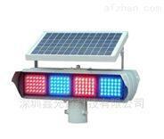 鑫光道太陽能單面爆閃警示燈