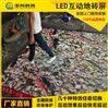 5dled互動地磚屏地面3d動態魚LED地板磚