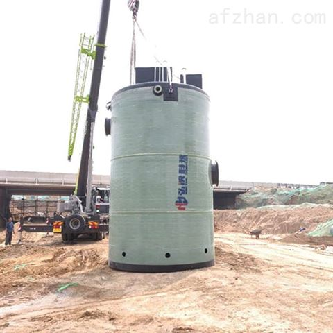上海一体化泵站玻璃钢预制泵站污水提升泵站
