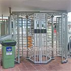 栏杆门禁回转不锈钢全高转闸