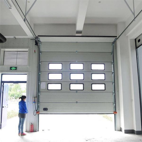 南京工业分节式电动工业提升门