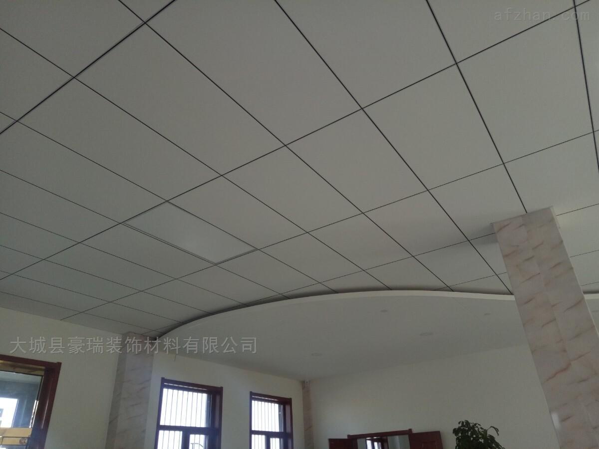 通辽体育馆吊顶用豪瑞岩棉吸音天花板健康