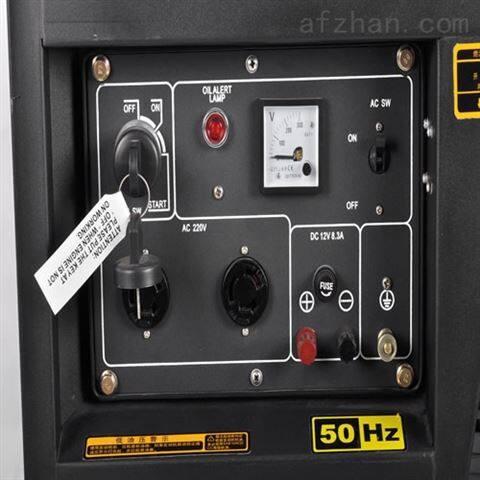 移动式柴油5KW发电机HS6500E
