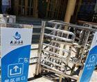 NGM貴州景區檢票進口半高單向旋轉道閘廠家