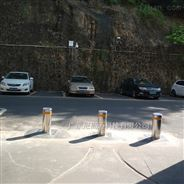 電動液壓升降阻車柱,步行街攔車升降莊