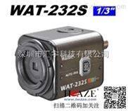 WAT-232SWATEC-原裝彩色轉黑白低照度工業攝像機
