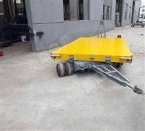 弹簧钢板牵引平板拖车 平板挂车 牵引车辆