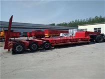 定做轻型高强钩机板生产各种挖掘机运输挂车