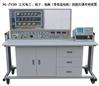 立式电工电子电拖带直流电机技能实训装置