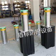 安徽學校氣壓式半自動伸降柱,手動升降路樁