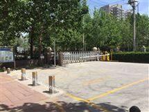 DB海南公园广场大门口防撞升降柱小区拦车路桩