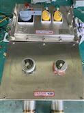 BXKIIB、304不锈钢防爆控制箱配置金属按钮灯