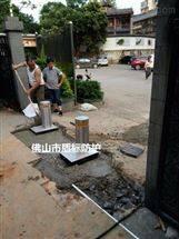 DB广东自动伸缩警示柱液压全自动升降柱厂家