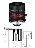 理光500萬像素2/3英寸16mm工業鏡頭