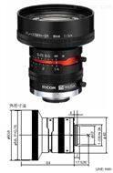 理光500萬像素2/3英寸8mm工業鏡頭