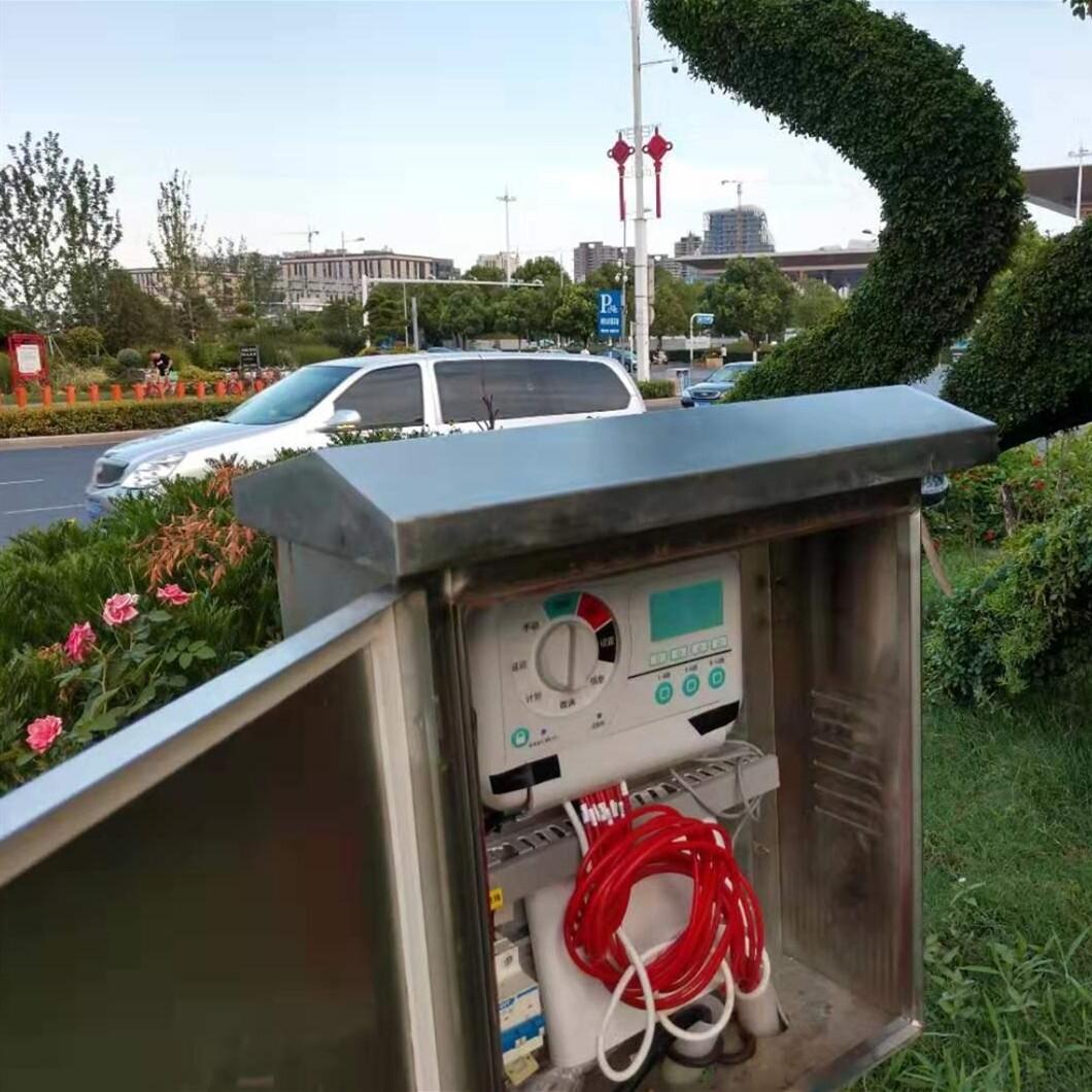 市政道路綠化帶智能自動化灌溉解決方案