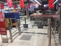 保定惠友超市 超市自動感應門