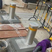 小區升降擋車樁-車牌識別電動升降柱