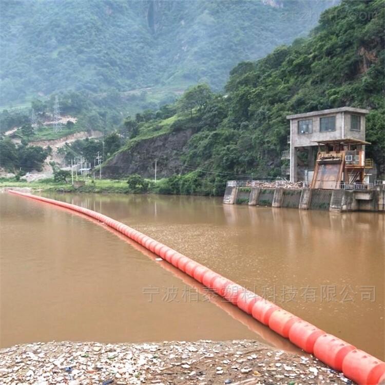 水电站漂浮式拦污浮筒