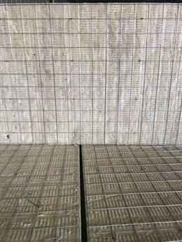 厂家单面钢丝网片岩棉板生产销售