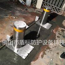 車道阻車器大門液壓升降柱,帶LED警示樁