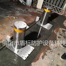 DB现货 升降地柱阻车桩 遥控大门不锈钢升降庄