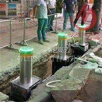 電子遙控遠距離控制電液一體防沖撞升降柱