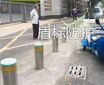 DB深圳防撞警示柱,小区防恐隐形升降路桩