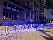 广西防撞升降桩隔离路障 带LED警示灯