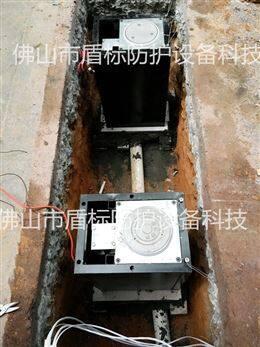 安全防护阻车液压伸缩桩  智能遥控升降柱