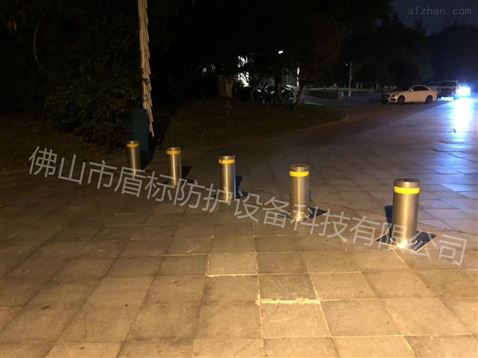 道路升降地柱 安全防撞路樁 智能升降柱