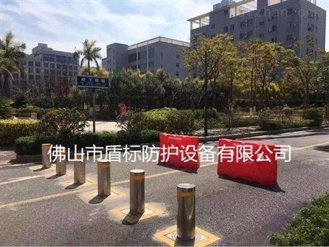 廣場隔離不銹鋼防撞升降柱 遙控地樁