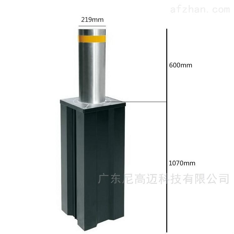 新疆优质升降隔离桩-电动升降柱路障