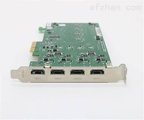 金微视高速PCIE4路HDMI采集卡 JWS-X4-HDMI