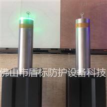 DB304不锈钢路障柱  液气压半自动升降柱