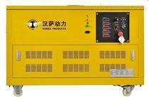家用靜音12kw天然氣發電機