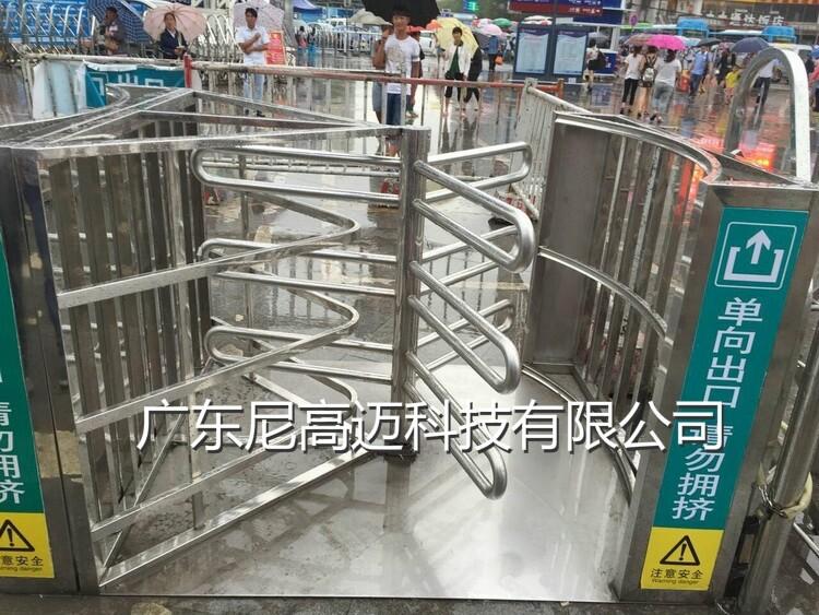贵广高铁站出口半高单向转闸门