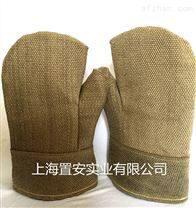 进口JUTEC耐高温手套900度隔热防烫手套两指